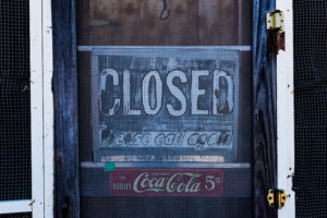 Closed - Please Call Again by Tony Webster on Flickr, used under a CC-BY-SA license